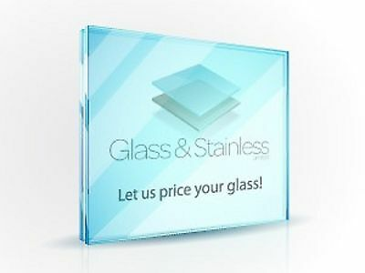 10mm Toughened glass panel - Sq/m price-see desciption