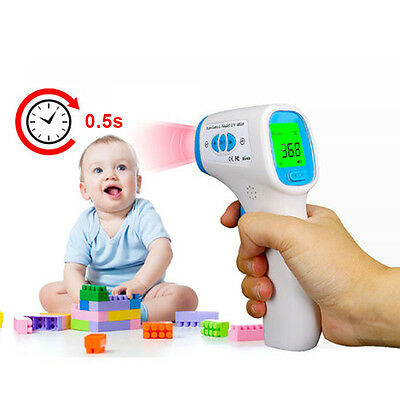 Body Baby LCD Digital IR  Infrared Body  Temperature Thermometer Tools