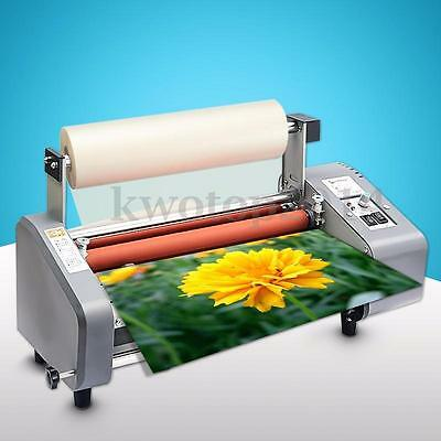 Office Laminating Machine Laminator 4 Rollers Hot Roll Laminating Machine V350