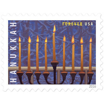 USPS New Hanukkah pane of 20