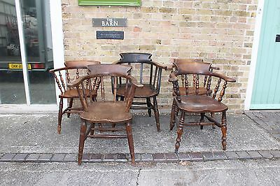 Nice Collection of Vintage Bow Chairs, delivery possible