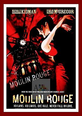 Moulin Rouge.     Movie Posters Musicals Vintage & Classic Cinema