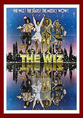 The Wiz    Movie Posters Musicals Vintage & Classic Cinema