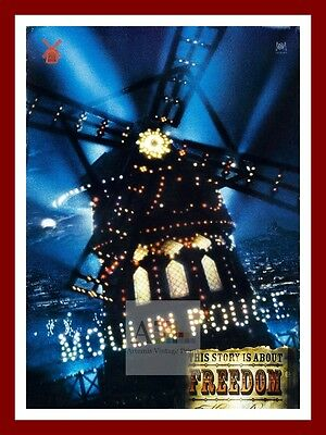Moulin Rouge 2      Movie Posters Musicals Vintage & Classic Cinema