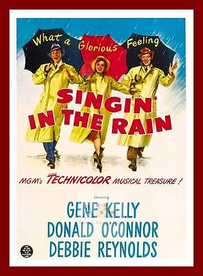 Singin' In The Rain     Movie Posters Musicals Vintage & Classic Cinema
