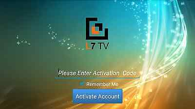 6 Months Activation Code L7 IPTV for Tiger devices OSN, Arabic, Europe,Persian