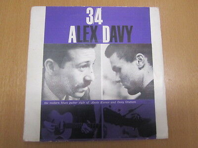 Alexis Korner / Davy Graham 3/4 A.d Ep Uk 1St 1962 Topic Nm Audio