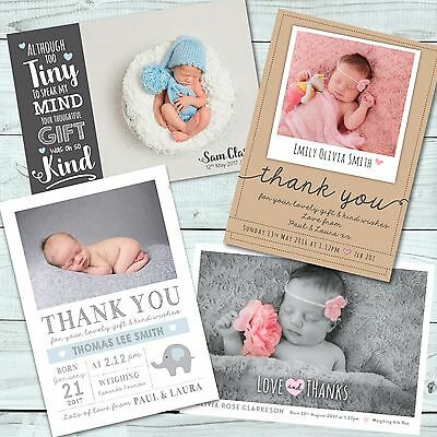 Personalised Photo Christmas Thank You Cards / Christmas Cards