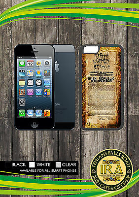 Irish republic proclamation Phone Cover with Case Colour options