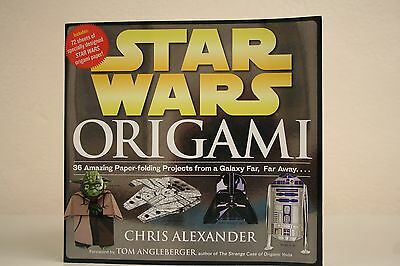 Origami : 36 Amazing Paper-Folding Projects from a Galaxy Far, Far Away..VG Con.