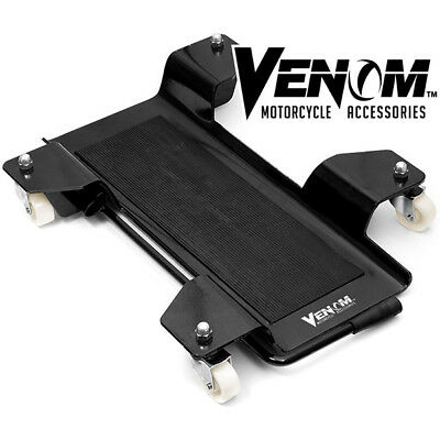 Motorcycle Dolly Park N Move Park-n-Move Center Stand With 360 Degree Casters