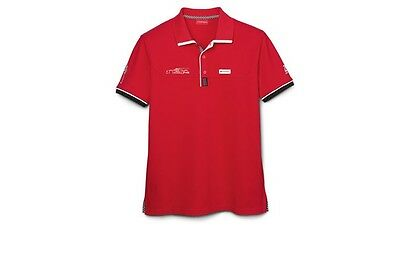 Audi Men's Polo Shirt Le Mans 2016 red size XXL 3131600206