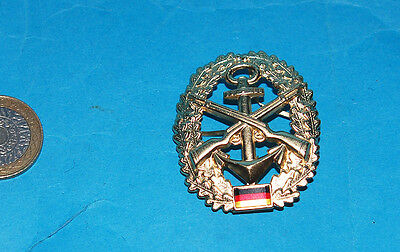 German Naval Officers Cap Badge. (Ay)