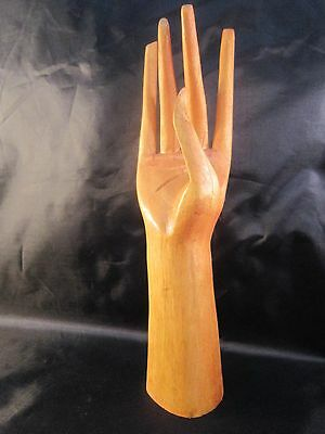 Tropical Wood Hand, Jewelry Display Stand (Right Hand)