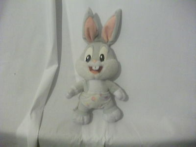 """9"""" cute soft baby bugs bunny from looney tunes play by play plush doll"""