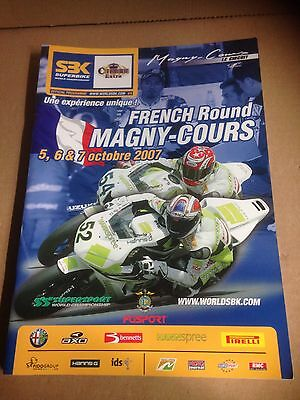 4 World Superbike Programmes Inc Magny Cours