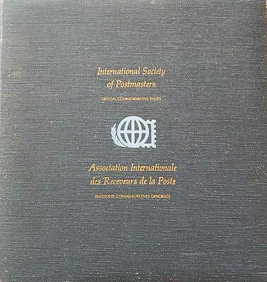 1976,77,78 International Society Of Postmasters-36 Silver Medals Pnc Fdc Album