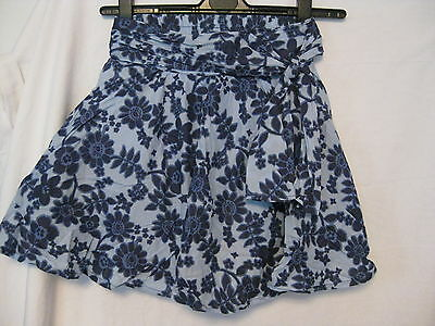 Floral Cotton Lined Skirt