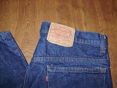 VINTAGE LEVIS 517 - 0217 XX BOOTCUT JEANS made in USA 34 x 30