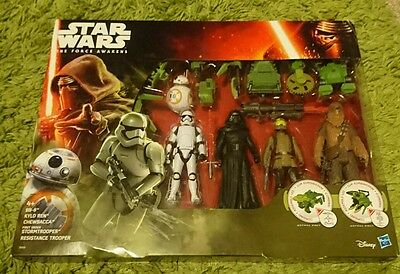 Star Wars The Force Awakens Figures BB-8 Kylo Ren Chewbacca
