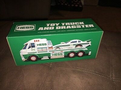 2016 Hess Toy Truck and Dragster Christmas