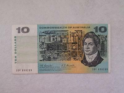 1967 Coombs / Randall Commonwealth Of Australia $10 Note