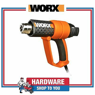 Heat Gun Worx 2000W 3 Stage Cold Air Function With Accessory Kit