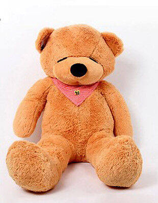 1.2m 120cm Tall Giant Huge Lovely Teddy Bear Stuffed Plush Doll Great Gift LB