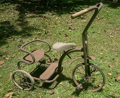 Antique/vintage childrens tricycle