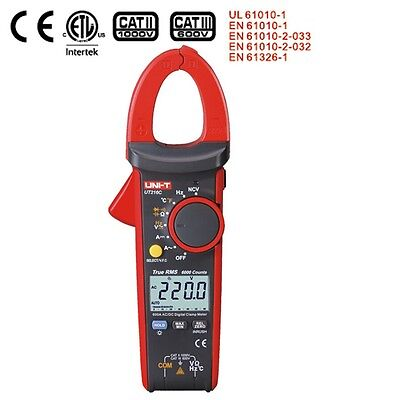 UNI-T UT216C 600A True RMS Digital Clamp Meters Auto Range w/Frequency