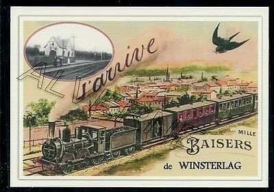 WINSTERLAG -   ...... TRAIN  ....   souvenir creation moderne serie numerotee