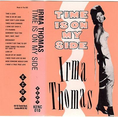 IRMA THOMAS Time is on my Side RARE 60er MC Tape MUSIKKASSETTE Take a Look