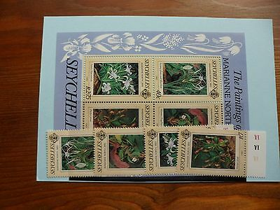 Seychelles Stamps, 1983, SG568-571, MS572, Mint never hinged