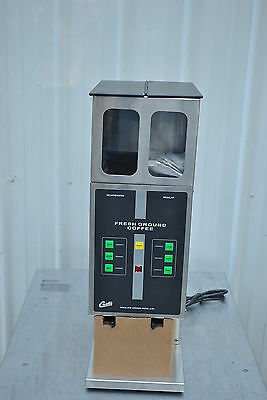 New Curtis Ilgd-31 Automatic Dual Hopper Coffee Grinder