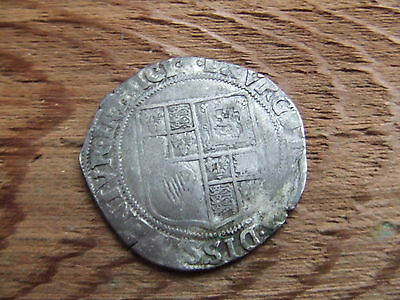 JAMES 1st   1603- 1625.  SILVER SHILLING.   1604.   NICE CONDITION.