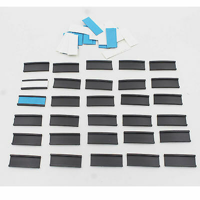 30 Magnetic Line-up Tabs Data Card Holders for Baseball Coacher Board with cards