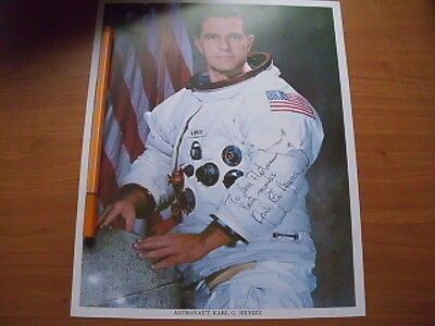 USA STS 51  Signed Autogramm Karl Gordon Henize Picture (Tod)autographed NASA