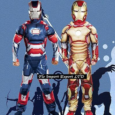 Ironman Costume Tuta Carnevale Bambino Ironman Boy Costumes Dress Up IRON01 - 2