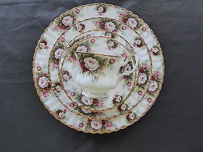 1 - Royal Albert Celebration 5 Piece Place Setting (7 more sets available)