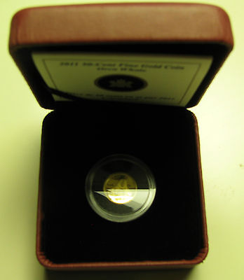 2011 Proof 50 cents Boreal Forest #2-Orca 1/25oz .9999 Gold Canada fifty