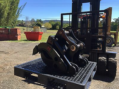 ARE Attachments 12 Ton hydraulic log / rock grab grapple suit excavator