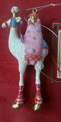 New Krinkles Patience Brewster Mini Nativity Camel Ornament