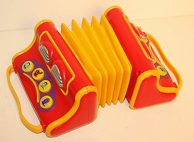 The Wiggles Accordion Musical Music Play Along Toy