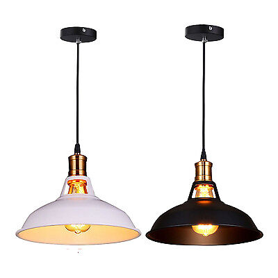 noir retro industriel edison vintage lustre plafonnier luminaire suspension m1 eur 33 01. Black Bedroom Furniture Sets. Home Design Ideas