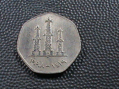 UNITED  ARAB  EMIRATES    50  Fils    1998