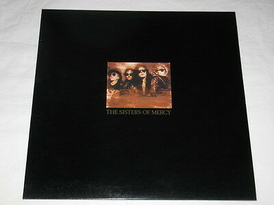 """SISTERS OF MERCY - Doctor Jeep 12"""" 3 Tracks UK Including Free Poster"""