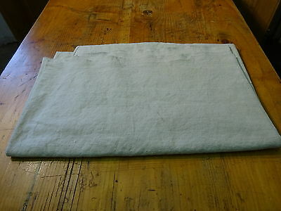 Antique European Linen, Hemp,Flax Homespun Linen Sheet 74'' x 43'' #7622