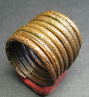 Ancient Viking Bronze Ring. (A7).Cleared.