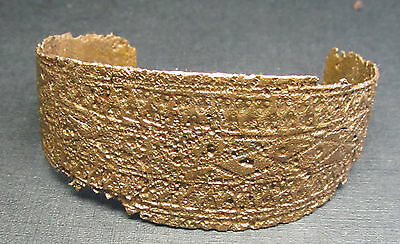 Ancient Viking Bronze Bracelet .(D1).Cleared.