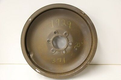 "1929 Chevrolet Steel Disc Wheel for 20"" rim 371"